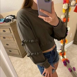 Garage cropped sweater